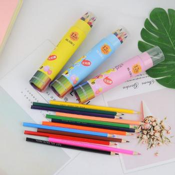 Combo 12 bút chì màu cho bé (ko chuốt)