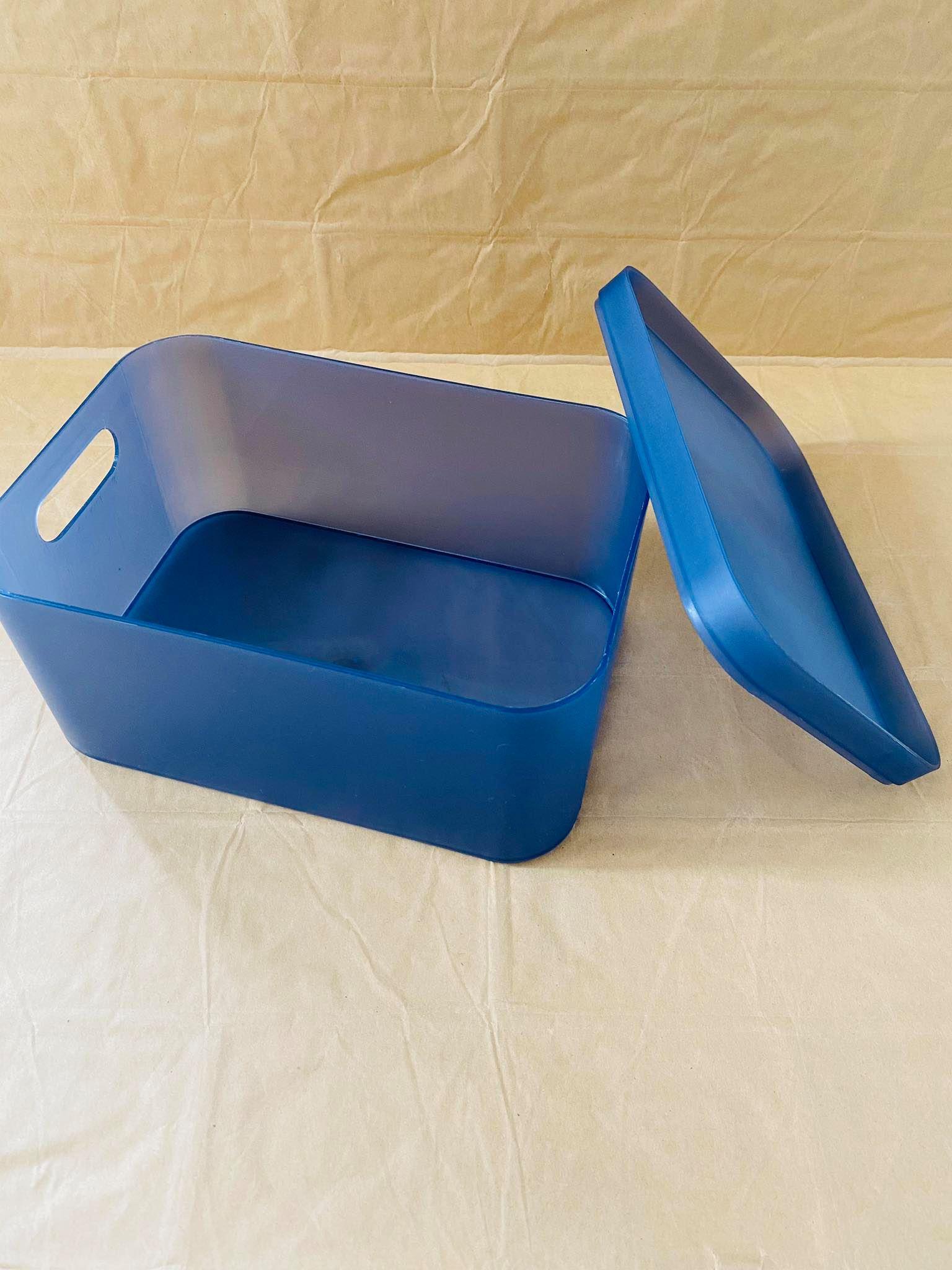 Hộp nhựa đựng đồ có nắp 22x10.5x5.5cm