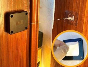 Thiết bị đóng cửa cảm biến tự động không cần đục lỗ