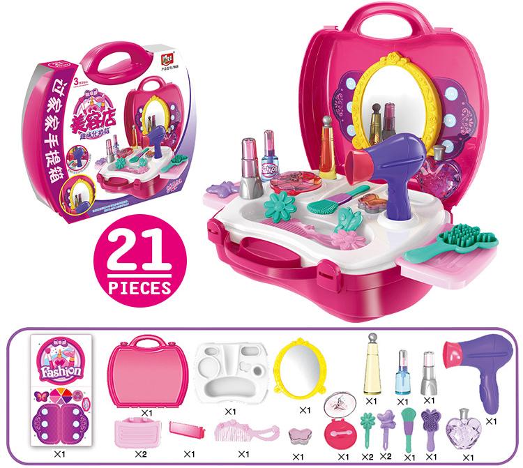 Bộ đồ chơi trang điểm cho bé 21 món