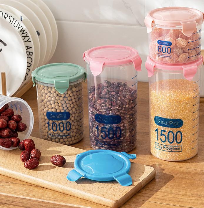 Hộp nhựa đựng thức ăn có nắp 1500ml