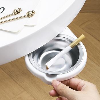 Gạt tàn bằng thép kiểu xoay dưới bàn