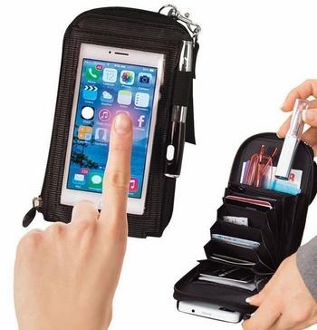 Ví cảm ứng đa năng đựng điện thoại , thẻ ATM