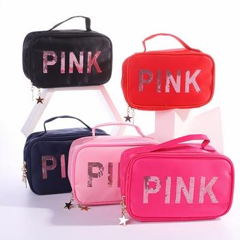 Túi xách đựng mỹ phẩm PINK