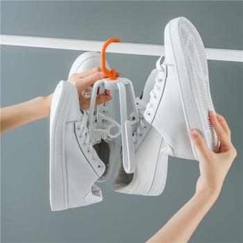 Móc phơi dép giày 4 móc gấp gọn tiện dụng