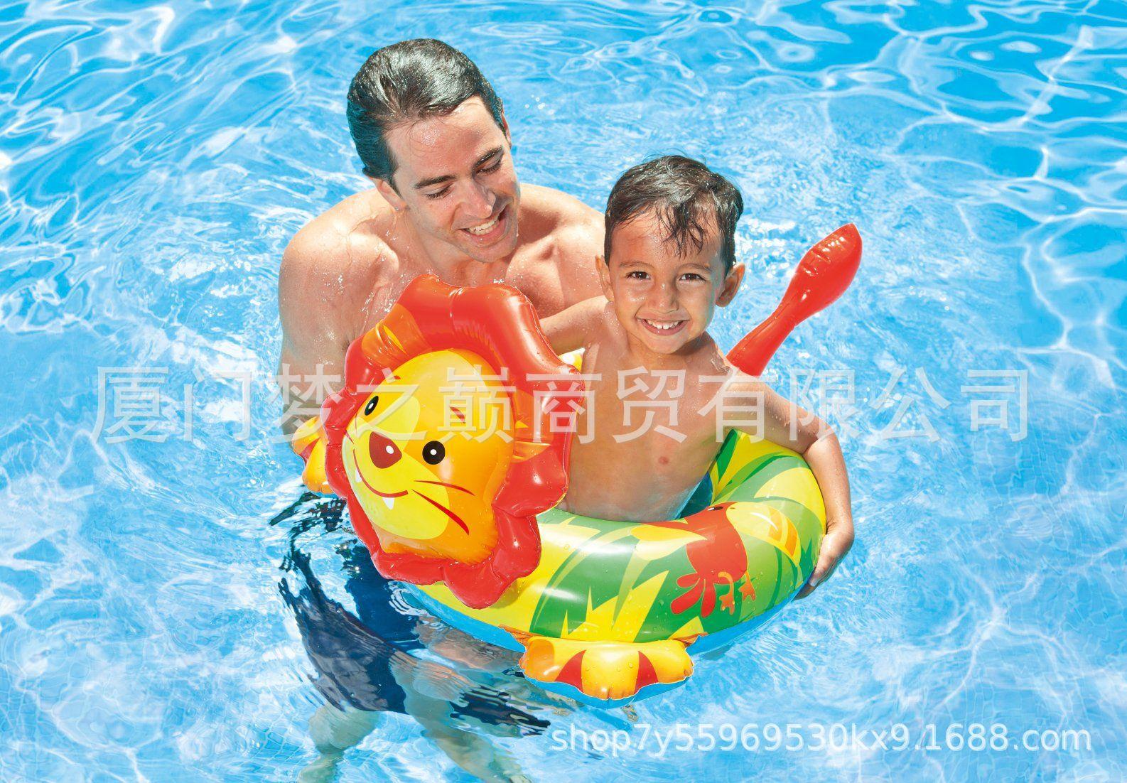 phao bơi hình thú INTEX58221