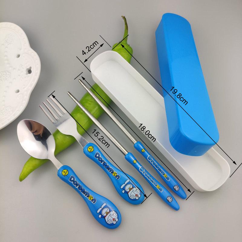 Bộ muỗng nĩa hoạt hình cho bé