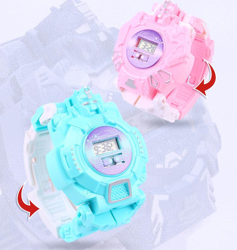 Đồng hồ biến hình rôbot