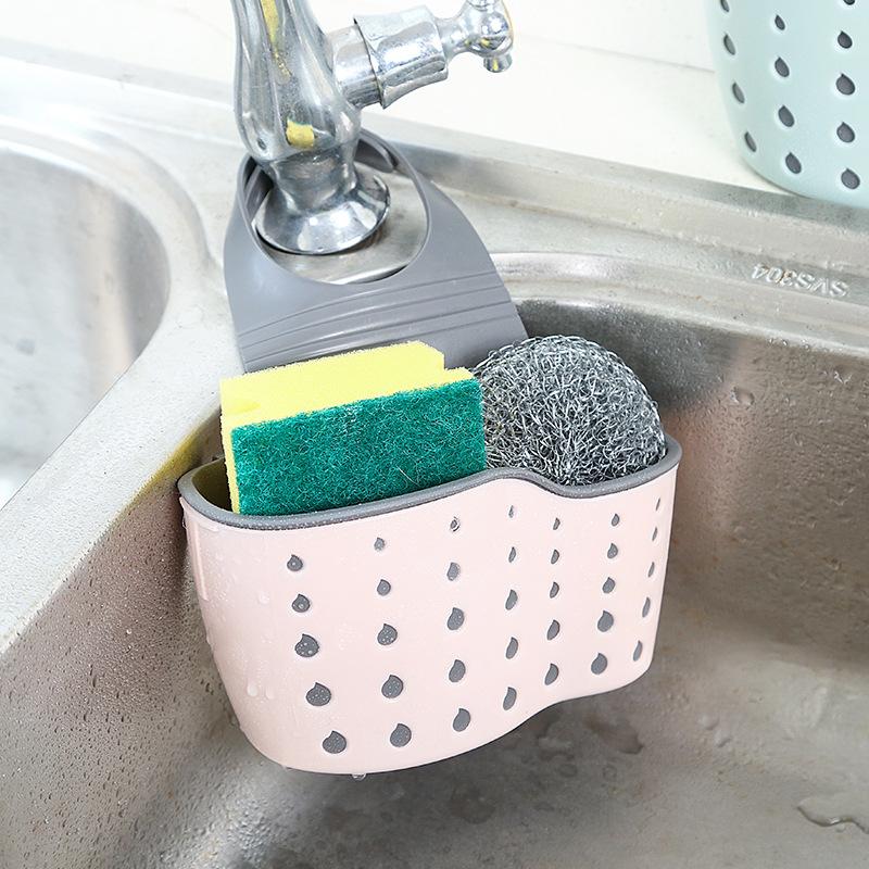 Giỏ treo bồn rửa chén hình giọt nước