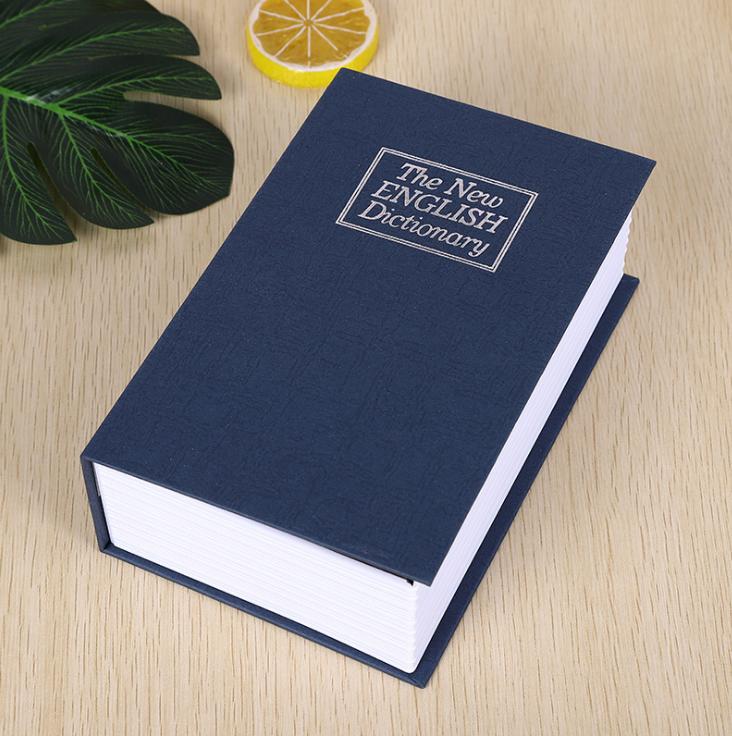 Két sắt hình quyển sách 11.5x8x4.5cm