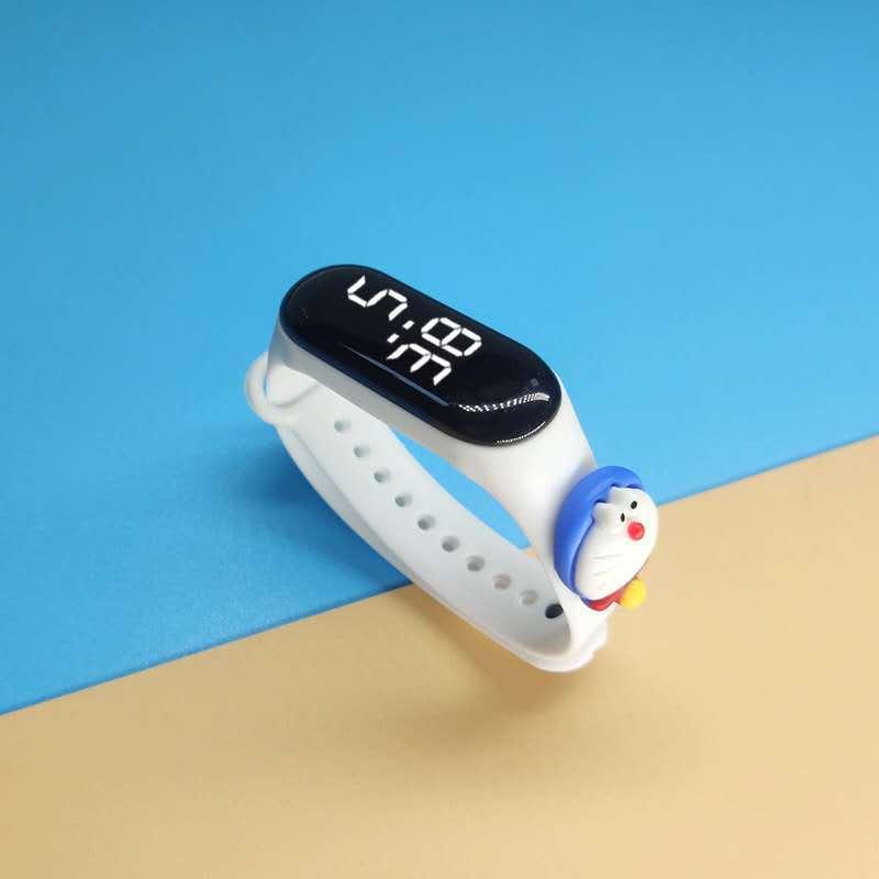 Đồng hồ led có hình thú cho bé