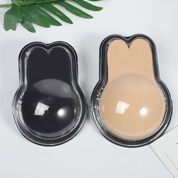 Cặp 2 miếng dán ngực tai thỏ dễ thương (hộp nhựa)
