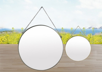 Combo 2 gương tròn treo tường 40cm