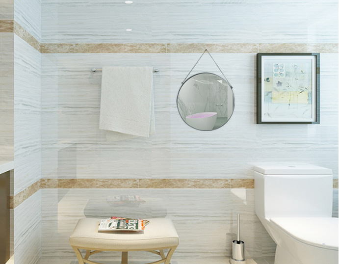 Gương tròn treo tường 40cm