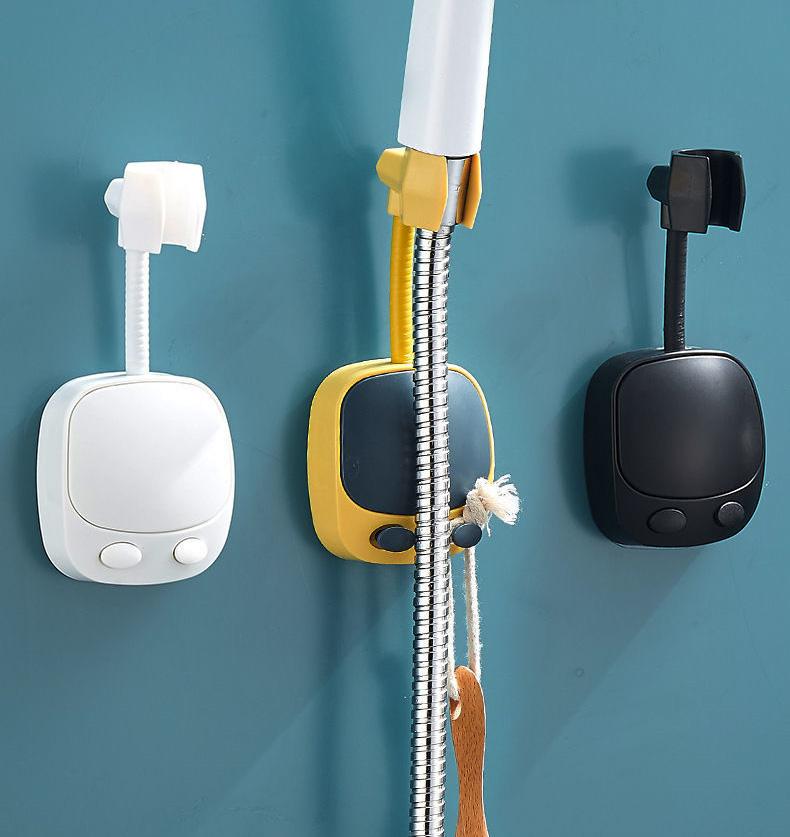 Giá đỡ đầu vòi có 2 móc treo đồ dùng