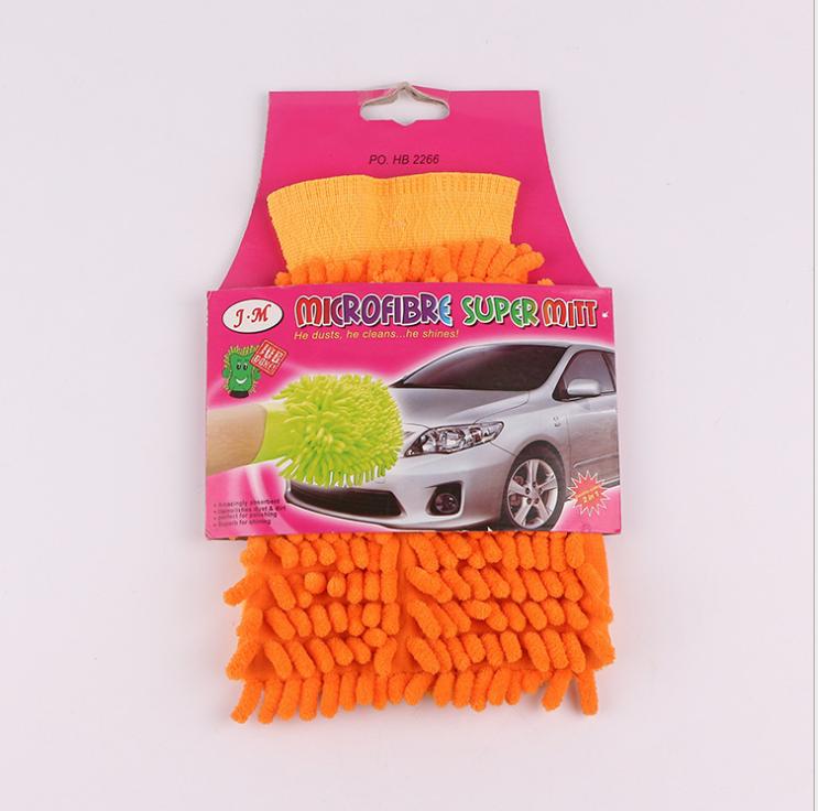 Găng tay san hô rửa xe 2 mặt