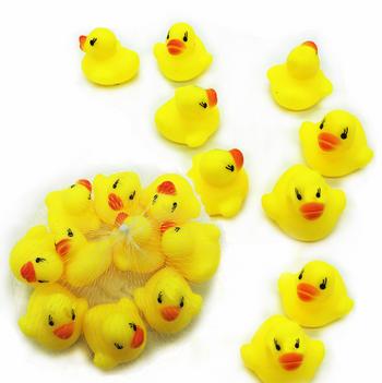 Combo 20 Chú vịt vàng đồ chơi cho bé trong nước