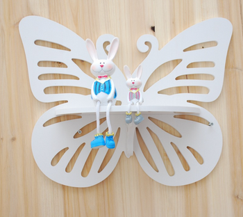 Kệ trang trí dán tường hình bướm