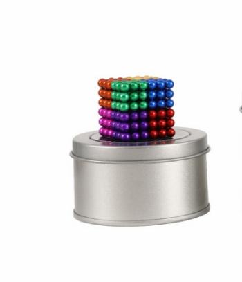 Bi nam châm tròn - bucky ball 3mm 8 màu