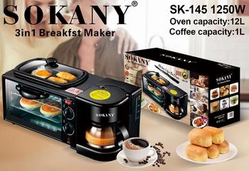 Máy làm đồ ăn sáng Sokany SK-145